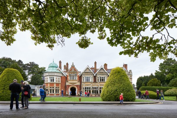 Bletchley Park, credit Andy Stagg, copyright The Bletchley Park Trust HIGH RES